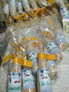 Gooseberry-in plastic bag